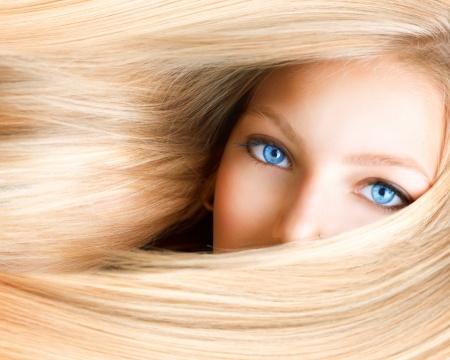 dziewczyna blond