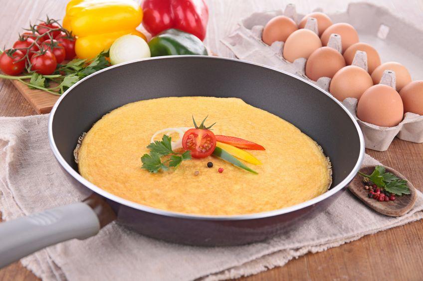 omlet sciagniety